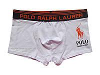 Мужские трусы боксёры Polo Ralph Lauren белые