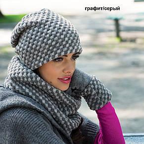 Красива молодіжна шапка від Kamea DANIELA., фото 3