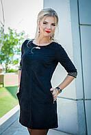 Платье женское, цвет: черный, размер: 36, 38, 40