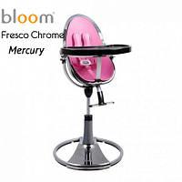 Детский стульчик для кормления Bloom Fresco Chrome Mercury (вкладыш в комплекте)