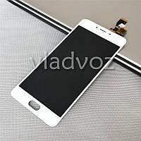 Дисплей модуль экран с сенсором для замены на Meizu M3s mini LCD белый