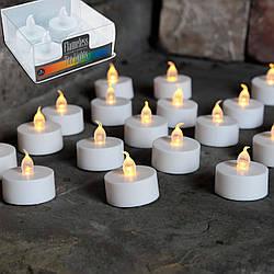 """Светодиодные свечи """"Чайные"""" LED Torch Tea Light (4 шт. в наборе)"""