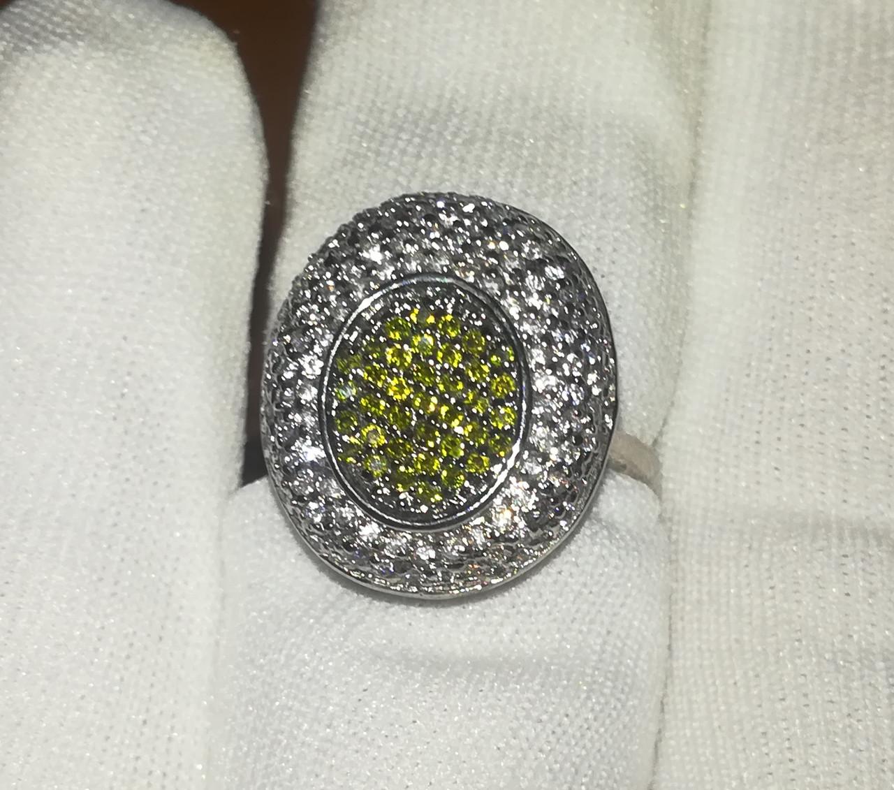 Кольцо. Серебро 925  Размер 17.