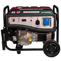 Генератор бензиновый SENCI SC5000-Е 4,5 кВт