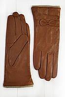 Цветные кожаные перчатки Средние