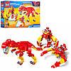 Конструктор Brick Enlighten 1403-4 Space war Космический динозавр 3в1