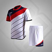 Комплект футбольной формы BestTeam SC-13015(белый/красный/т.синий)