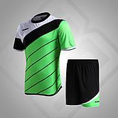 Комплект футбольной формы BestTeam SC-13015 (зеленый/черный/белый)