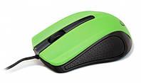 Мышь Gembird MUS-101-G, оптика, Green USB