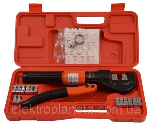 Ручной гидравлический пресс для опресовки наконечников от 4 до 70 мм.кв. НР-70.