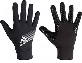 Футбольные Adidas ClimaWarm Fieldplayer Gloves Black