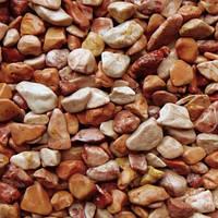 Мраморная галька красная Breccia Pernice (Италия)