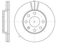 Тормозной диск передний Daewoo Lanos 1.5, Chevrolet Aveo 1.5