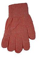 Вязаные перчатки Корона Детские 5002S-4 розовые