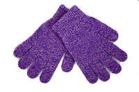 Вязаные перчатки Корона Детские  5002S-7 фиолетовый