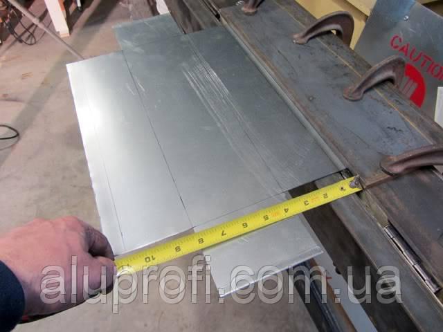 Гибка листового алюминия
