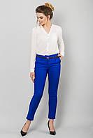 Ярко-синие брюки