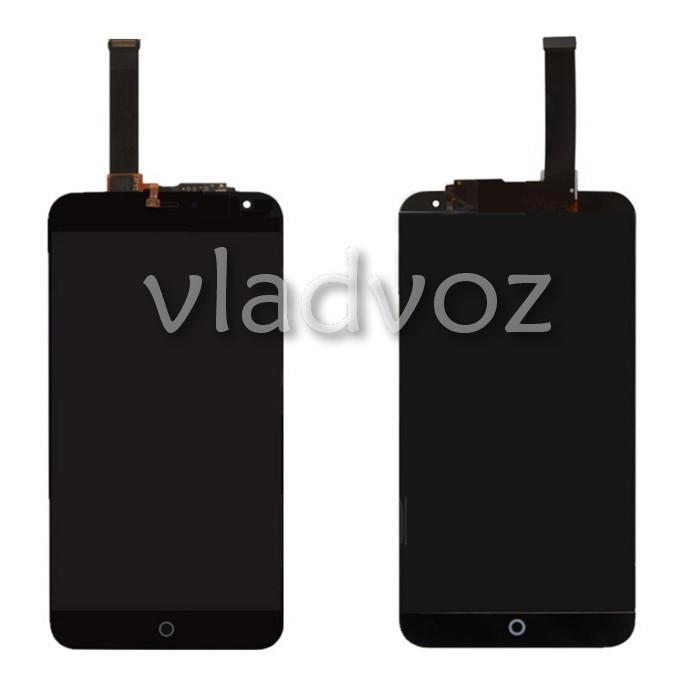Дисплей модуль экран с сенсором для замены на Meizu MX4 5.3 LCD черный + рамка