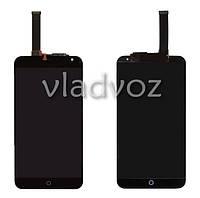 Дисплей модуль экран с сенсором для замены на Meizu MX4 5.3 LCD черный