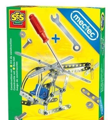 Металлический конструктор Вертолет, фото 2