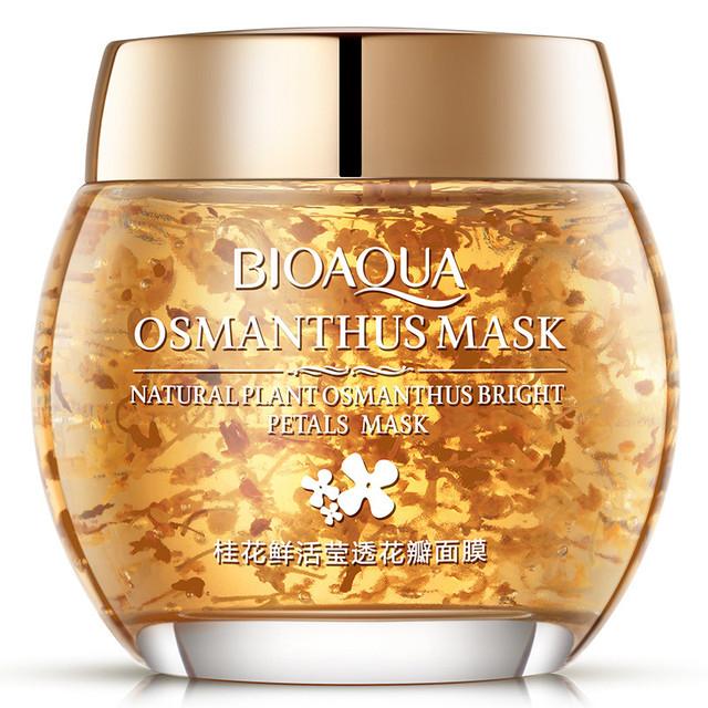 Увлажняющая маска с лепестками османтуса BIOAQUA Osmanthus Face Mask