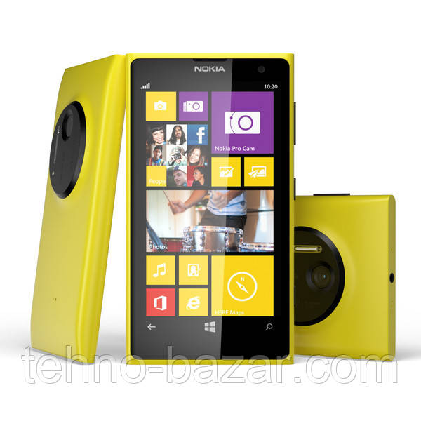 Смартфон Nokia Lumia 1020 2Gb\32Gb Yellow 4,5 HD 41 mp  + подарки