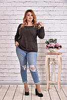 Женская блуза с вышивкой 0619 / размер 42-74