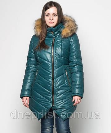 Куртка зимняя женская № 19 (44-52), фото 2