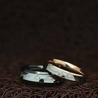 """Парные кольца """"Хранители Искренности"""" [жен. 15.9 16.5 17.3 18.2 19.0 муж. 17.3 18.2 19.0 20.0 20.7 21.5 размеры в наличии]"""