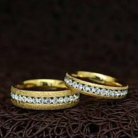 """Парные кольца """"Помолвочные"""" [жен. 15.9 16.5 17.3 18.2 муж. 17.3 18.2 19.0 размеры в наличии]"""