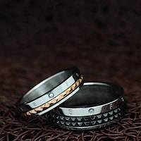 """Вращающиеся кольца для двоих """"Хранители Грации"""" [жен. 17.3 муж. 18.2 размеры в наличии]"""