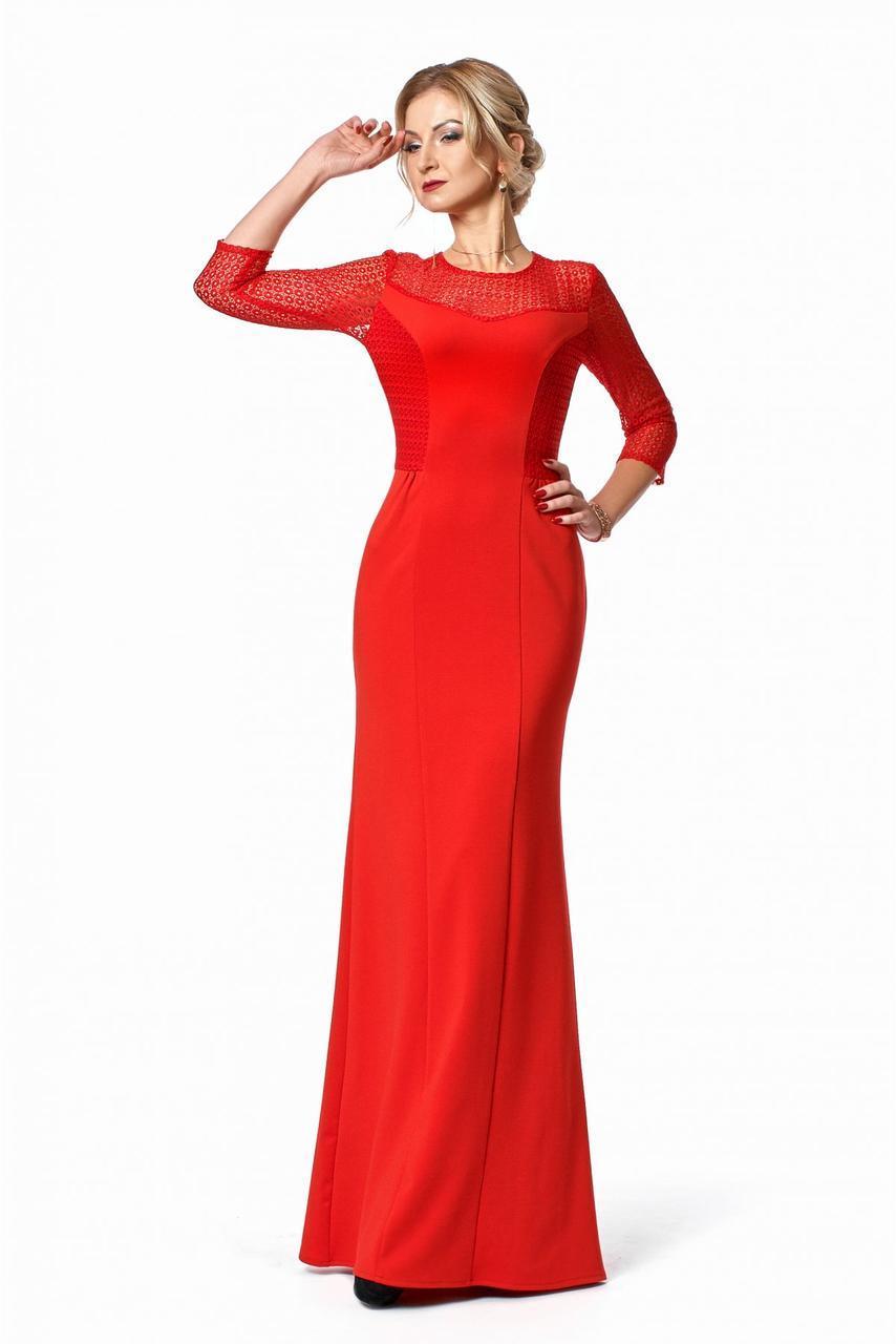 bdcb497a483 Женское длинное вечернее платье   размер 42