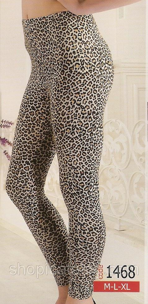 Лосины для девушек и женщин (тигровые)