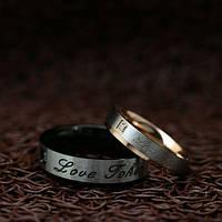 """Кольца для влюбленных """"Хранители Искренности"""" [жен. 15.9 18.2 муж. 17.3 размеры в наличии]"""