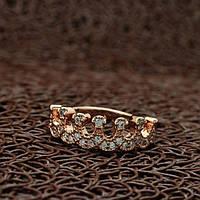 """Позолоченное кольцо  """"Blossom"""""""