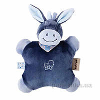 Nattou Мягкая игрушка-подушка ослик Алекс 24см 321099