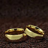 """Парные кольца """"Счастливы вместе"""" [жен. 15.9 16.5 муж. 18.2 размеры в наличии]"""