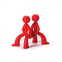 Подставка для хранения и сушки разделочных досок Board Brothers Peleg Design (красная)