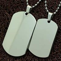 """Парные армейские жетоны под гравировку """"Медальоны Победителей"""""""