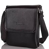 Мужская сумка через плечо из качественного кожезаменителя Трейд BONIS (БОНИС) SHIS8593-black