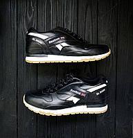 Кроссовки мужские Reebok  GL 3000 черные реплика