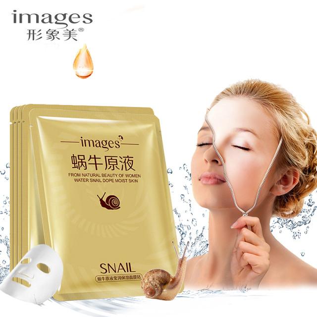 Тканевая маска с экстрактом улитки Images Water Snail Dope Moist Skin