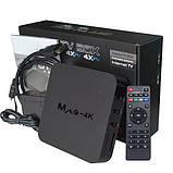 Mini PC, SMART TV OTT TV BOX MXQ 4k Android ОЗУ 1GB HDD 8GB WiFI AirPlay, фото 2