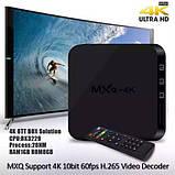 Mini PC, SMART TV OTT TV BOX MXQ 4k Android ОЗУ 1GB HDD 8GB WiFI AirPlay, фото 3