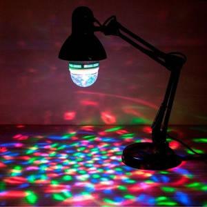 Светодиодная лампа RGB disco LB800 Е27 3W Код.52588, фото 2