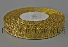 Лента парча золотая 1,2 см 25ярд
