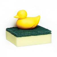 Держатель для губки Duck Sponge Qualy (желтый)