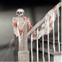 Кровавая ткань для украшения