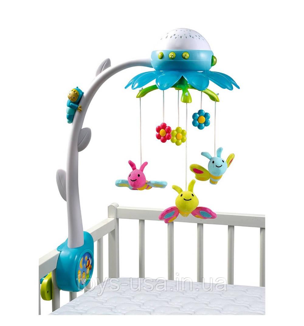 Мобиль музыкальный на кроватку - Цветок, Smoby, 211407 - Интернет-магазин  детских игрушек 171802a7f95