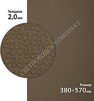 Резина подмёточная BISSELL, БИЗЕЛ, арт 033 -small, р. 380*570*2 мм, цв. тропик